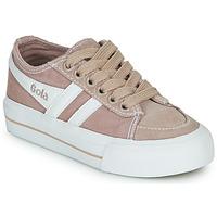 Sapatos Criança Sapatilhas Gola QUOTA II Rosa / Branco