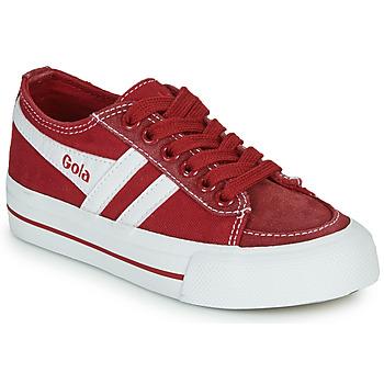 Sapatos Criança Sapatilhas Gola QUOTA II Vermelho / Branco