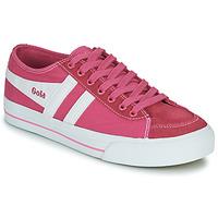 Sapatos Mulher Sapatilhas Gola QUOTA II Rosa / Branco