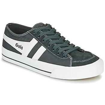 Sapatos Sapatilhas Gola QUOTA II Grafite / Branco