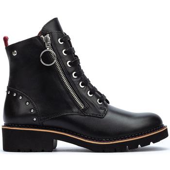 Sapatos Mulher Botas baixas Pikolinos VICAR W0V BLACK