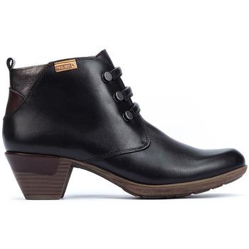 Sapatos Mulher Botins Pikolinos ROTTERDAM 902 BLACK