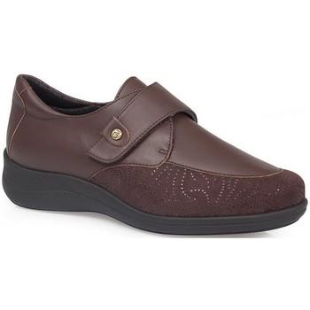 Sapatos Mulher Sapatos & Richelieu Calzamedi SAPATOS  DIABÉTICOS MUITO CONFORTÁVEIS E ELÁSTICOS BROWN