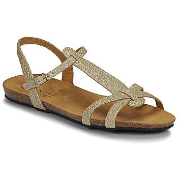 Sapatos Mulher Sandálias André BORA Ouro