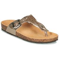 Sapatos Mulher Sandálias André RILA Ouro