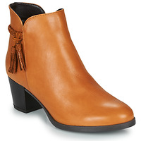 Sapatos Mulher Botas baixas André MARYLOU Camel