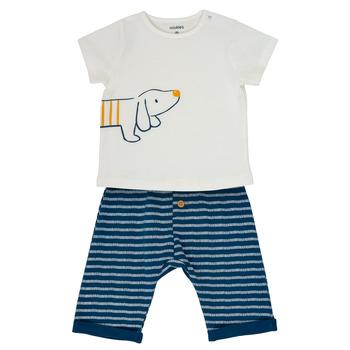 Textil Rapaz Conjunto Noukie's MALO Branco