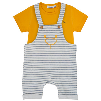 Textil Rapaz Conjunto Noukie's YOUSSEF Amarelo