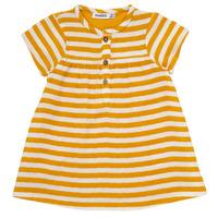 Textil Rapariga Vestidos curtos Noukie's YOUNES Amarelo