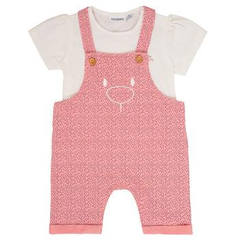 Textil Rapariga Conjunto Noukie's MINO Rosa