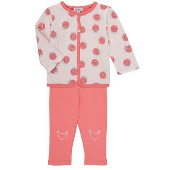 Textil Rapariga Conjunto Noukie's OSCAR Rosa