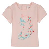 Textil Rapariga T-Shirt mangas curtas Carrément Beau NOLAN Rosa