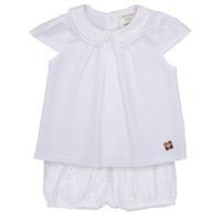 Textil Rapariga Conjunto Carrément Beau LORELLI Branco
