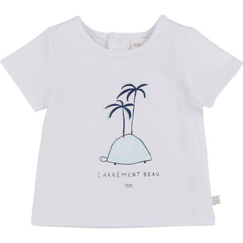 Textil Rapaz T-Shirt mangas curtas Carrément Beau MARTINEZ Branco
