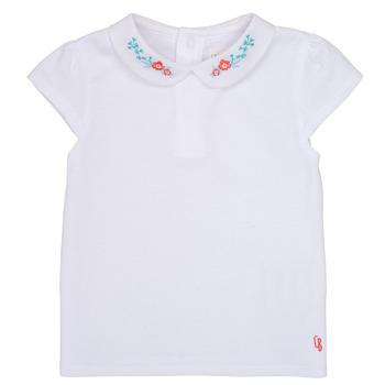 Textil Rapariga T-Shirt mangas curtas Carrément Beau JULIEN Branco