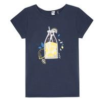 Textil Rapariga T-Shirt mangas curtas 3 Pommes LOGAN Azul
