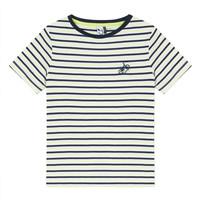 Textil Rapaz T-Shirt mangas curtas 3 Pommes NORDINE Amarelo