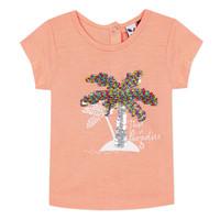 Textil Rapariga T-Shirt mangas curtas 3 Pommes EMMA Laranja