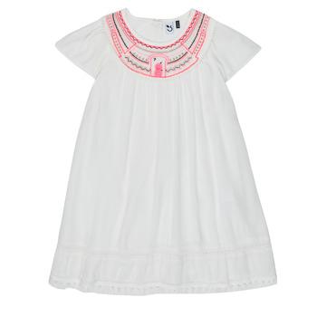 Textil Rapariga Vestidos curtos 3 Pommes LAURA Branco