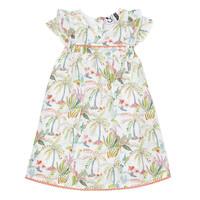 Textil Rapariga Vestidos curtos 3 Pommes SANDRINE Branco