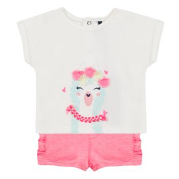 Textil Rapariga Conjunto 3 Pommes JULIEN Rosa