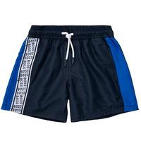 Textil Rapaz Shorts / Bermudas BOSS MOZEL Azul