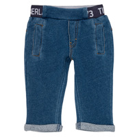 Textil Rapaz Calças Timberland VALENTIN Azul
