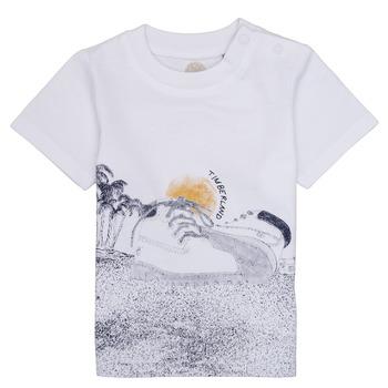 Textil Rapaz T-Shirt mangas curtas Timberland ANTONIN Branco