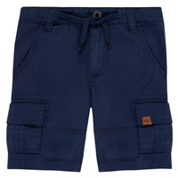 Textil Rapaz Shorts / Bermudas Timberland LUKA Azul