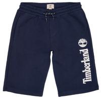 Textil Rapaz Shorts / Bermudas Timberland OMAR Azul