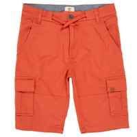Textil Rapaz Shorts / Bermudas Timberland STANISLAS Vermelho