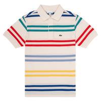 Textil Rapaz Polos mangas curta Lacoste HENRI Multicolor