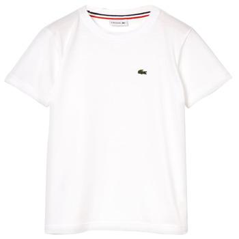 Textil Rapaz T-Shirt mangas curtas Lacoste ALIZE Branco