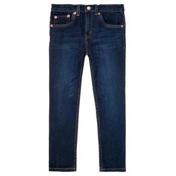 Textil Rapaz Calças de ganga slim Levi's 512 SLIM TAPER Azul