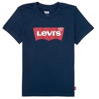Textil Rapaz T-Shirt mangas curtas Levi's BATWING TEE Marinho