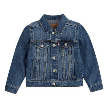 Textil Rapaz casacos de ganga Levi's TRUCKER JACKET Bristol