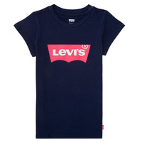 Textil Rapariga T-Shirt mangas curtas Levi's BATWING TEE Marinho