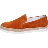 Sapatos Mulher Slip on Bouvy BP288 Castanho