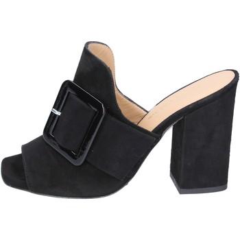 Sapatos Mulher Chinelos Broccoli BP304 Preto