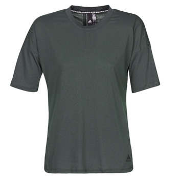 Textil Mulher T-Shirt mangas curtas adidas Performance W MH 3S Tee Preto