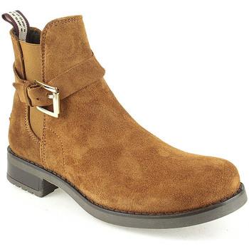 Sapatos Mulher Botas baixas Alex L Boot Lady Camel