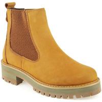 Sapatos Mulher Botas baixas Top3 L Boot Lady Camel