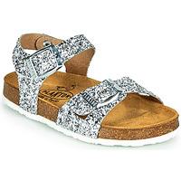 Sapatos Rapariga Sandálias Plakton LISA Prata