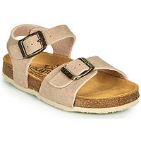 Sapatos Criança Sandálias Plakton LOUIS Bege