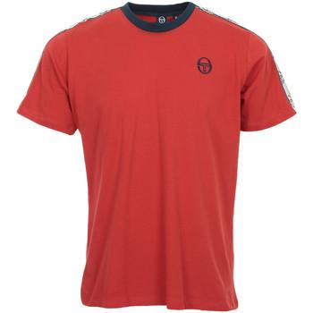 Textil Homem T-Shirt mangas curtas Sergio Tacchini Dahoma T-Shirt Vermelho