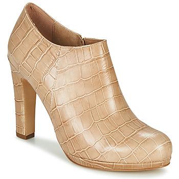 Sapatos Mulher Botas baixas Fericelli OMBRETTA Bege