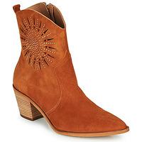Sapatos Mulher Botins Fericelli MEYLIA Conhaque