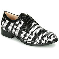 Sapatos Mulher Sapatos Fericelli MILEYNE Preto / Branco