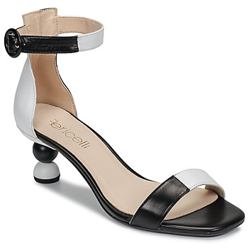 Sapatos Mulher Sandálias Fericelli MARC Preto / Branco