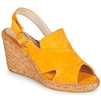 Sapatos Mulher Sandálias Fericelli MARIE Amarelo